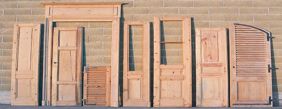 Sverniciatura serramenti in legno